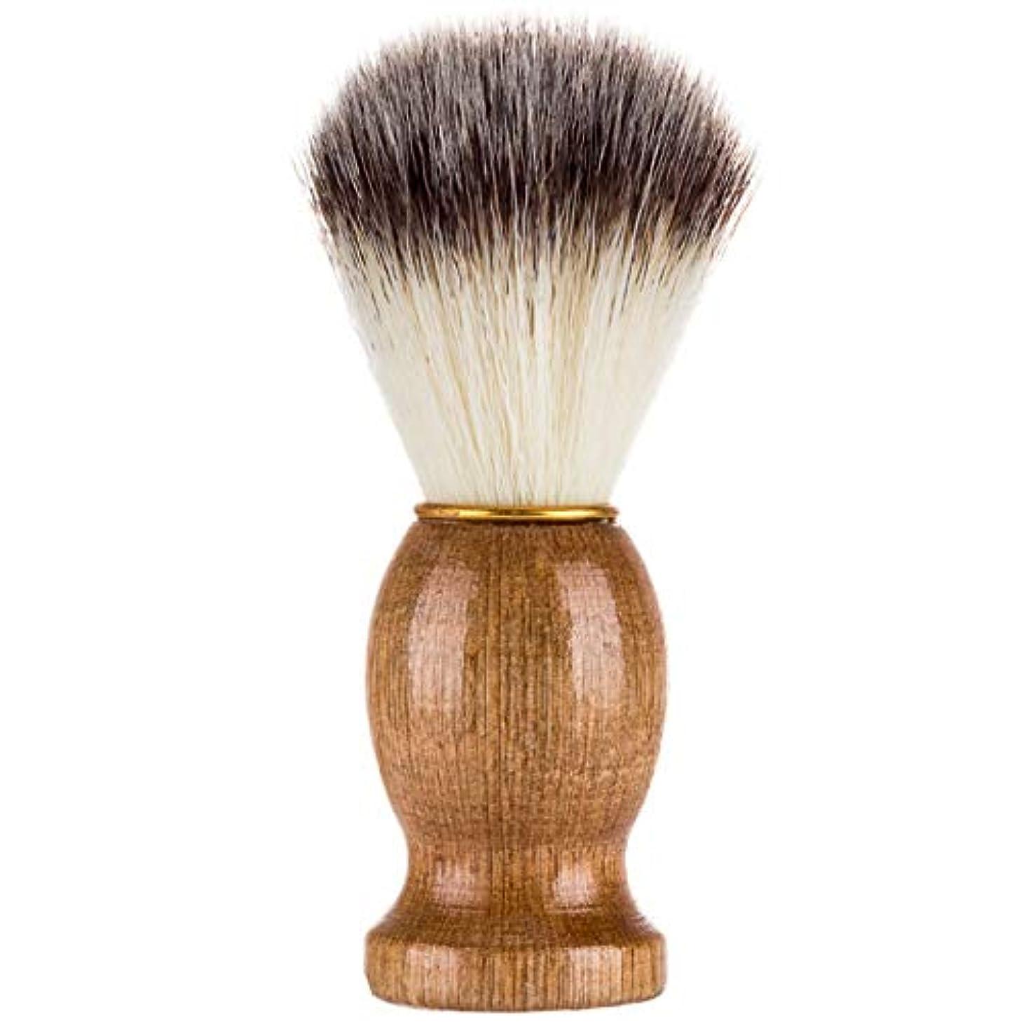 電圧砂漠あごソフトヘアメイクブラシメンズシェービングブラシ品質剛毛新しいポータブルハイエンドひげブラシ美容ツール