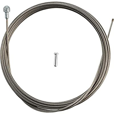 Shimano Stainless Tandem Road Brake Cable 1.6 x 3500mm, Tandem Length