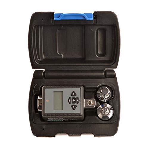 HomeDecTime Digitaler Drehmoment Adapter mit Drehwinkel Meßgerät 1/2 Zoll Drehmomentschlüssel Winkelmessgerät - 17-340Nm mit Adapter