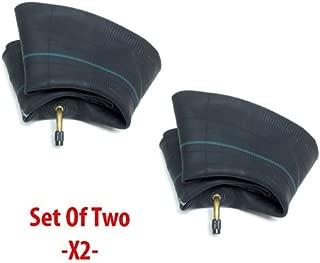 MMG Set of 2 Motorcycle Inner Tube 2.50/2.75-10, 80/90-10, 80/100-10, TR87 Bent Valve Stem