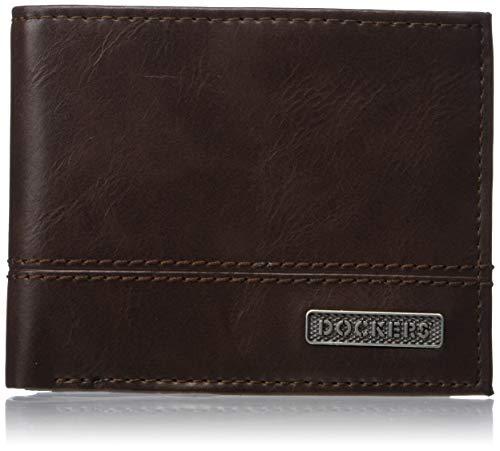 Dockers Men's Leather Passcase Wallet