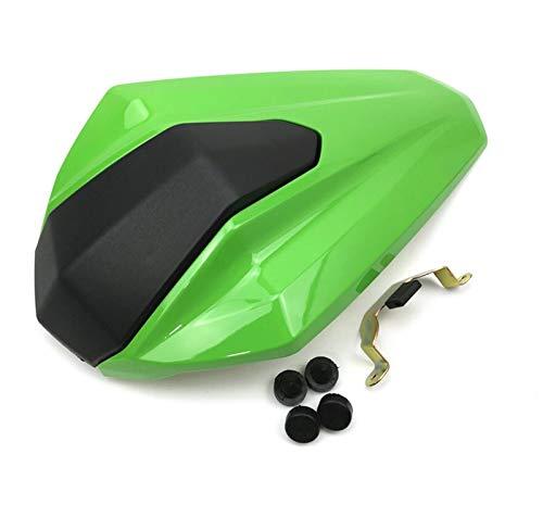 XUNLAN Durable Motorrad Rückseitsteilnehmer Passagier Cowl Seat Back Cover Verkleidung Teil Fit für Kawasaki Ninja 400 Ninja400 2018 2018 2019 Wearable (Color : Green)