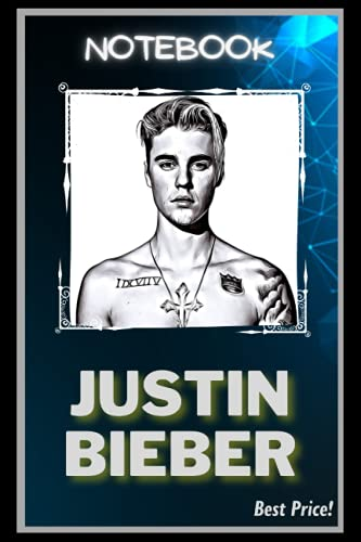 Notebook: Beautiful Justin Bieber Inspired Notebook And Journal (120+ Pages, 6 x 9, Lined Paper)