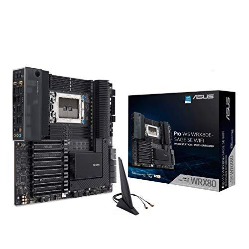 ASUS Pro WS WRX80E-SAGE SE WIFI AMD Threadripper Pro EATX workstation...