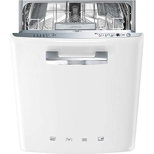 Lave vaisselle encastrable Smeg ST2FABWH - Lave vaisselle encastrable 60 cm - Classe A+++ / 43 decibels - 13 couverts - Blanc