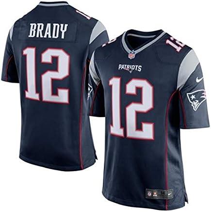 newest a4af4 de7f9 Amazon.co.uk: New England Patriots Tom Brady NFL Jersey