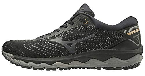 Mizuno J1Gc19026143 - Zapatilla Wave Sky 3 - Color: Blk/Dark Shadow/10135 C Talla: 43 - Hombre