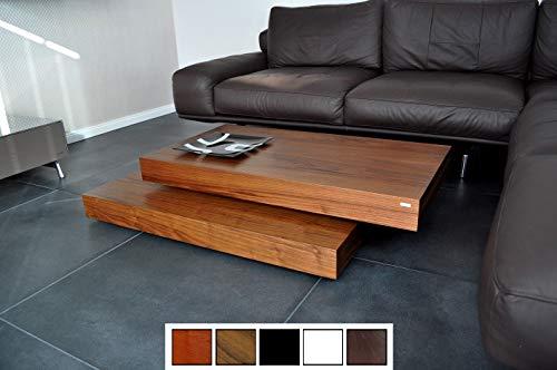 Design Couchtisch Tisch S-60 Nussbaum/Walnuss Carl Svensson