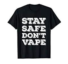 So do you like what see? Go ahead and make your friends jealous with this Stay Safe Don't Vape or Use Vaporizers Toxic Timebombs graphic tee. Perfect for any occasion and also make a great gift. Grab this for your sweetheart, husband, wife, boyfriend...