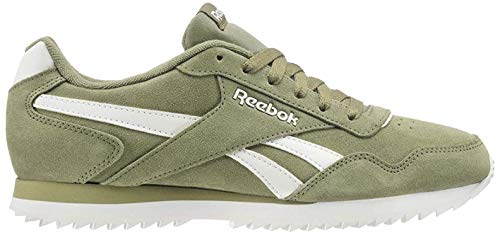 Reebok Royal Glide Rpl, Zapatillas de Running para Hombre, Verde (Hunter Green/White 000), 42 EU