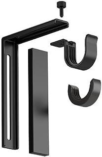 comprar comparacion IKEA BETYDLIG - Soporte de pared / techo, negro