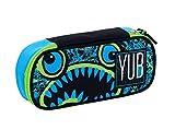 Bustina Round Plus YUB Svalvolati, Blu, Organizer interno porta penne.