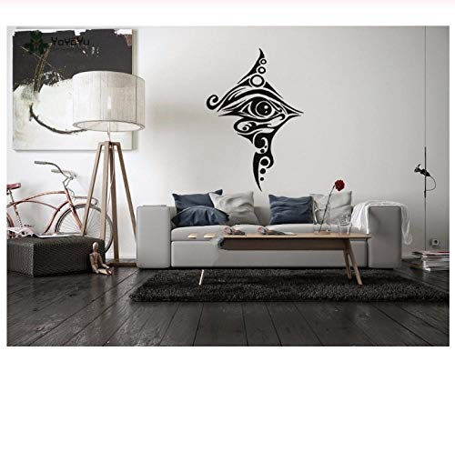 Vinyl Wall Decals Egyptian Eye Tattoo Wall Stickers Inspirational Quotes Wall Art Living Room Bedroom Decor 4262cm