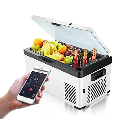 Mysida Car Refrigerators Koelkast, draagbaar, voor elektrische compressor, voor auto, 12 V, 24 V, 220 V Smart App