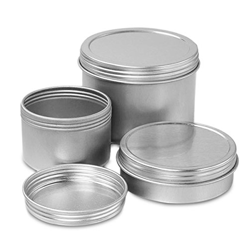 Cheap 12 Oz Screw Top Round Steel Tin Can | Quantity: 288