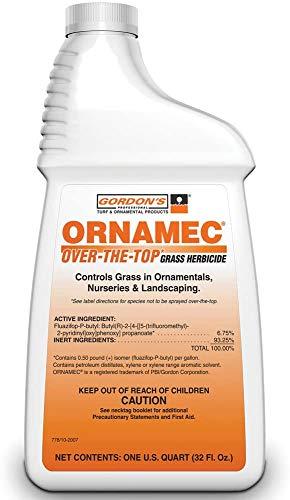 Ornamec Over-The-Top Grass Herbicide, 1 Quart, 7781086