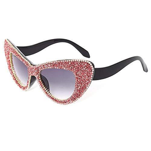 Occhiali da Sole Sunglasses Occhiali da Sole Oversize Cat Eye Occhiali da Sole da Donna Diamond Occhiali da Sole con Strass Glitter Occhiali da Sole Uomo Luxury Brand Eyewear Uv400 4