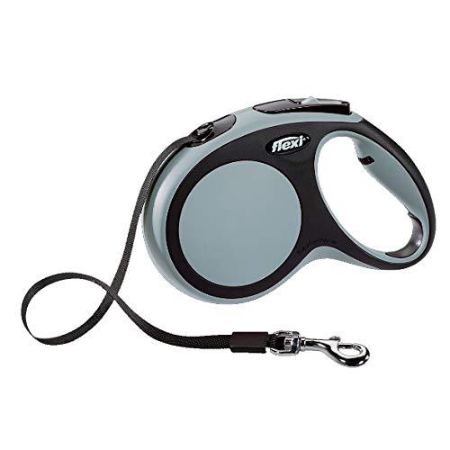 Flexi CR04100GR New Confort Laisse pour Chien Gris Taille XS