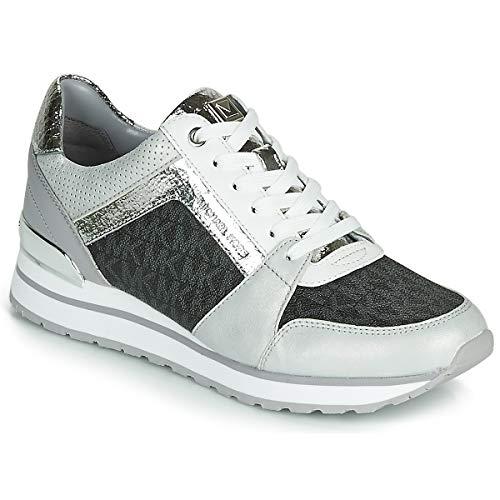 Michael MICHAEL KORS Billie Trainer Sneaker Femmes Weiss/Grau - 35 - Sneaker Low