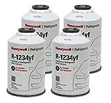 Honeywell R1234YF AC Refrigerant for Mobile Systems Solstice HFO-1234YF (4) 8oz Cans
