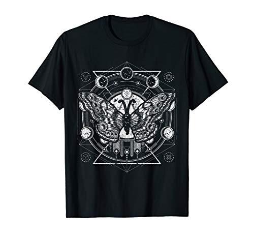 Okkulte Mondphasen Motte T-Shirt