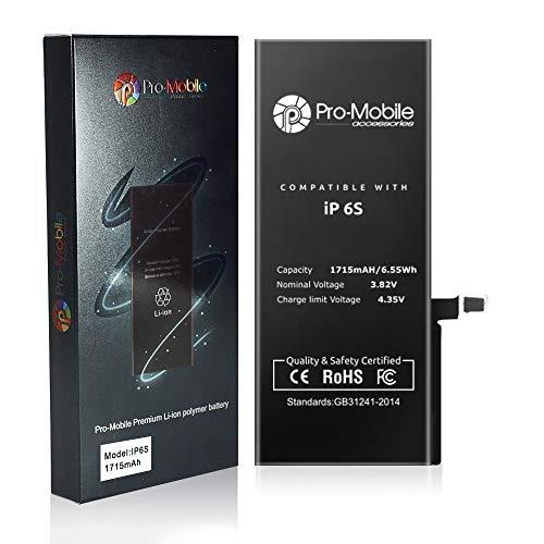 Pro-Mobile Power vervangende batterij voor originele Apple iPhone batterij mobiele telefoon Accu, iPhone 6S