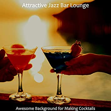 Awesome Background for Making Cocktails