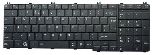 New UK Layout Black Keyboard Replacement for Toshiba Satellite L655 L655D L660 L660D L665 L665D L670 L670D L675 L675D L750 L750D L755 L755D L770 L770D L775 L775D series laptop