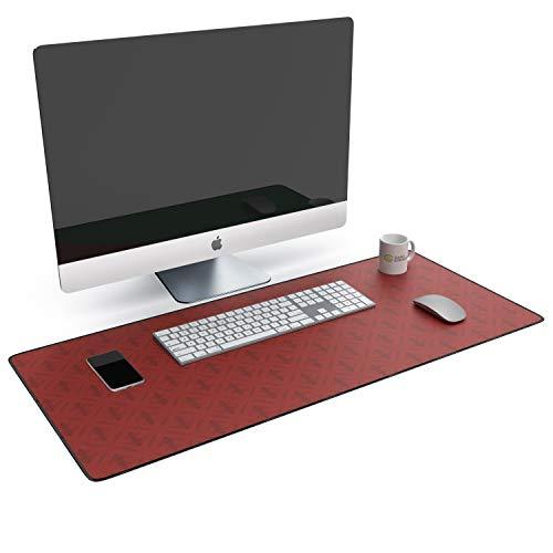 CSL - XXL Mauspad Office und Gaming 900 x 400mm - XXL Mousepad groß mit Motiv - Tischunterlage Large Size - verbessert Präzision und Geschwindigkeit - Schreibtischunterlage