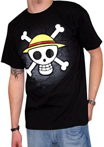 increíbles descuentos ABYstyle One Piece T-Shirt  Skull with with with Map (negro) Talla M  Tienda 2018