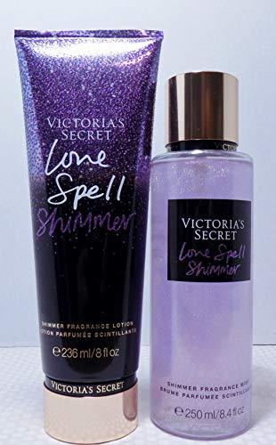 Victoria's Secret Shimmer Love Spell Bundle Fragrance Mist & Fragrance Lotion