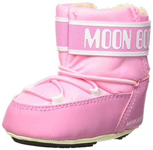 Moon-boot Crib 2, Stivali da Neve Unisex-Bimbi 0-24, Rosa (Rosa 004), 17/18 EU