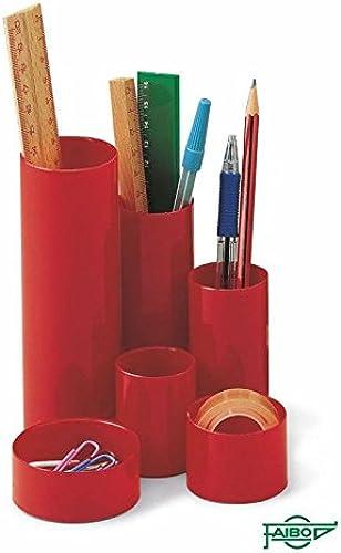 40% de descuento Faibo Cubiletes Cubiletes Cubiletes plástico – 6 tubos (azul)  tienda en linea