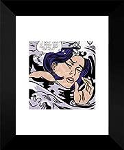 Drowning Girl by Roy Lichtenstein Pop Poster Print 14x11