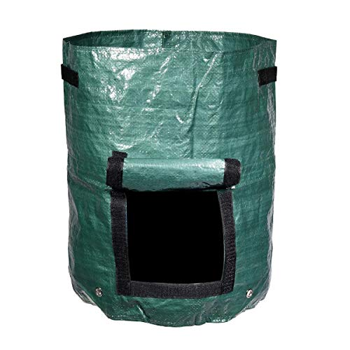Find Bargain AiKuJia Plant Grow Bags 60L Garden Planting Seedling Bags Organic Kitchen Composter Was...