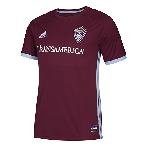 adidas Colorado Rapids Jersey Replica Home Soccer Jersey (XXX-Large)