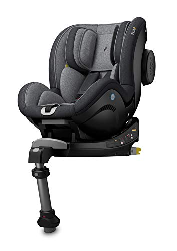 Osann Reboarder Isofix Kinderautositz FOX2 Gruppe 0+/1 (0-18 Kg) Universe Grey