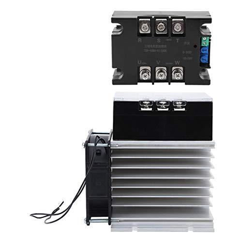 Módulo de arranque de motor Controlador de arranque suave 380V TSR-80WA-R1 (8KW) Trifásico 50-60HZ para máquina industrial(Module + radiator)