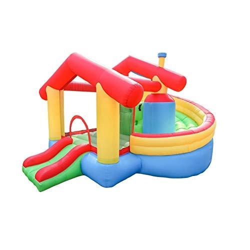 Zhihao Aufblasbare Frech Schloss Wasser aufblasbare Trampoline aufblasbare Trampoline Kinder Bracket Pool Spielplatz Spielzeug