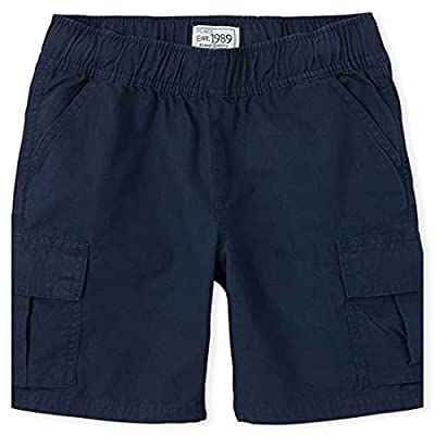 The Children's Place boys Pull On Cargo Shorts, Tidal, 8 from The Children's Place Children's Apparel