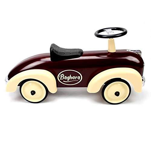 Baghera 884 - Speedster-Rutscher aus Metall, chocolate 75 x 25 x 37 cm, 1 - 3 Jahre, Rutschauto