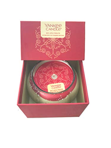 Kerze Boxed Orb Red Apple Wreath Yankee Candle