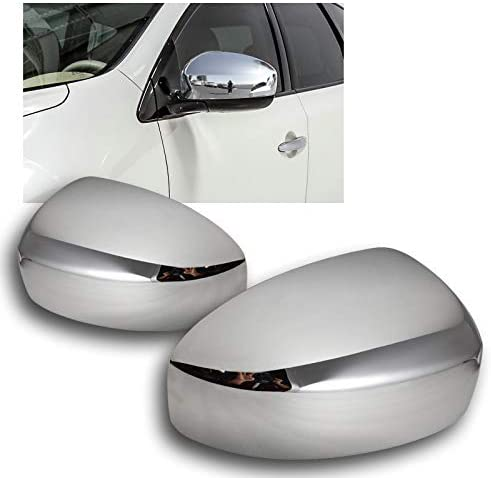EPARTS Chrome Plated Polished 期間限定で特別価格 ABS Side 豪華な Mirror Fi Cover Pair Caps