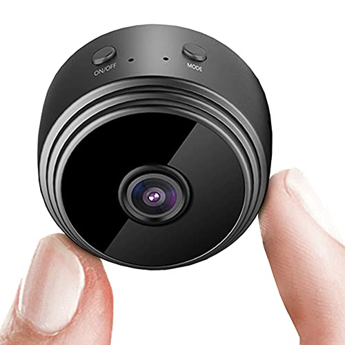 Hidden Camera Spy Camera with WiFi and Night Vision,1080P HD Detection Loop Recording Security Nanny Camera for Home and Office Surveillance (LN)