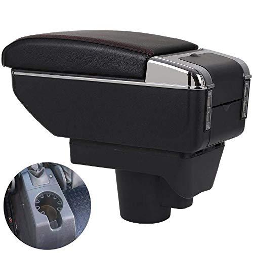 TWOBEE Armlehne Box Universal Auto-Mittelarmlehne Aufbewahrungsbehälter Cupholder Aschenbecher Änderung Zubehör (7 USB)