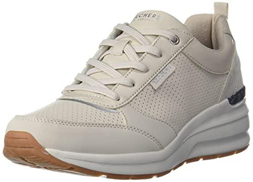 Skechers Billion Subtle Spots, Zapatillas Mujer, White, 38 EU