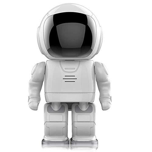 QOUP Cámara IP de 1080p Home Robot Security Cámara de Seguridad Bebé Monitor-Inteligente Alarma de Seguridad: Conversación de Dos vías-10M Visión Nocturna infrarroja con Altavoces de micrófono