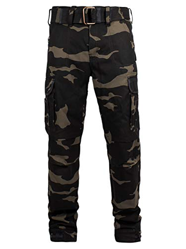 John Doe Regular Cargo   Motorradhose   Atmungsaktiv   Motorrad Cargo Hose   Hose mit Seitentaschen   Protektoren sind enthalten