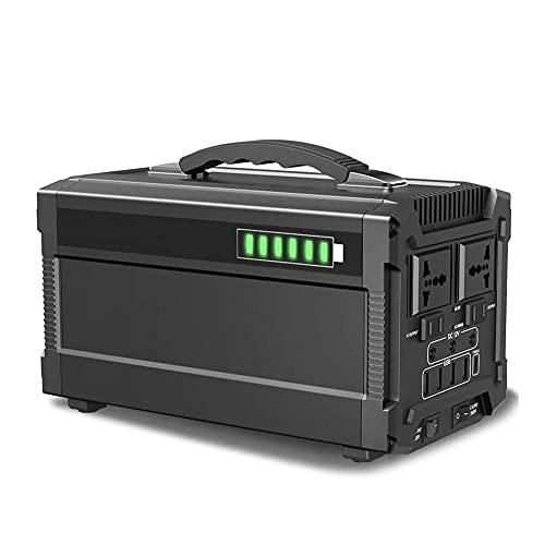 GAO-bo Fuente De Alimentación Al Aire Libre, Generador Portátil De Energía De Energía para CPAP, Inicio De Emergencia, Camping 120000mAh 500W