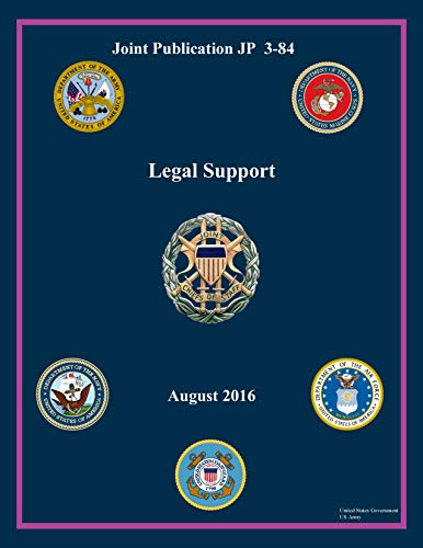 Joint Publication JP 3-84 Legal Support August 2016 (English Edition)